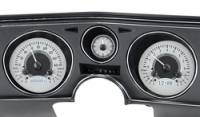 Dakota Digital - Dakota Digital VHX Gauge System Silver Alloy White - Image 2