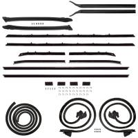 Classic Camaro Restoration Parts - H&H Classic Parts - Deluxe Weatherstrip Kit
