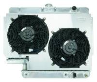 Classic Impala Parts Online Catalog - Cold-Case Radiators - Aluminum Radiator with Electric Fan