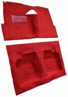 Auto Custom Carpet - Red Tuxedo Carpet - Image 2