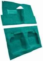 Auto Custom Carpet - Turquoise Tuxedo Carpet - Image 2