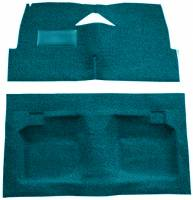 Classic Impala, Belair, & Biscayne Restoration Parts - Auto Custom Carpet - Blue 80/20 Loop Carpet