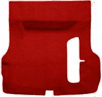 Trunk Parts - Trunk Mats - Auto Custom Carpet - Red 80/20 Loop Trunk Carpet
