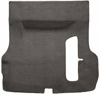 Trunk Parts - Trunk Mats - Auto Custom Carpet - Gray 80/20 Loop Trunk Carpet