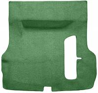 Trunk Parts - Trunk Mats - Auto Custom Carpet - Green 80/20 Loop Trunk Carpet