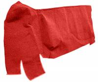Auto Custom Carpet - Red 80/20 Loop Gas Tank Covers Carpet - Image 2