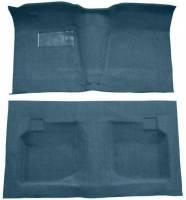 Classic Impala, Belair, & Biscayne Restoration Parts - Auto Custom Carpet - Blue Tuxedo Carpet