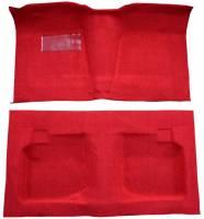 Auto Custom Carpet - Red Tuxedo Carpet - Image 1