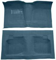 Classic Impala Parts Online Catalog - Auto Custom Carpet - Blue Tuxedo Carpet