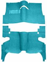 Classic Impala, Belair, & Biscayne Restoration Parts - Auto Custom Carpet - Blue 80/20 Carpet