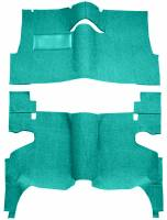 Classic Impala Parts Online Catalog - Auto Custom Carpet - Aqua 80/20 Carpet