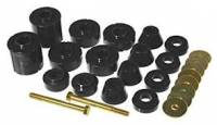 Sheet Metal Body Panels - Rubber Cab Mounts - Prothane Motion Control - Urethane Body Mount Kit