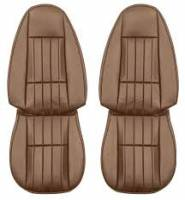 Interior Soft Goods - Seat Covers - Distinctive Industries - Front Seat Covers Camel