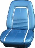 Interior Soft Goods - Seat Covers - Distinctive Industries - Front Seat Covers Bright Blue