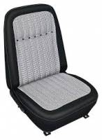 Interior Soft Goods - Seat Covers - Distinctive Industries - Front Seat Covers Black