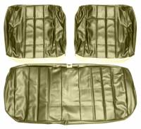 Chevelle - Seat Covers - Distinctive Industries - Front Seat Covers Fawn