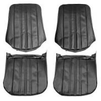 Interior Soft Goods - Seat Covers - PUI - Front Seat Covers Black