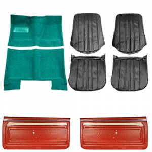 Classic Nova & Chevy II Restoration Parts - Interior Restoration Soft Goods