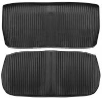Interior Soft Goods - Seat Covers - PUI (Parts Unlimited Inc.) - Front Seat Covers Black