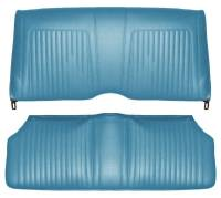 Distinctive Industries - Rear Seat Covers Light Blue