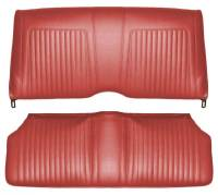 Distinctive Industries - Rear Seat Covers Red