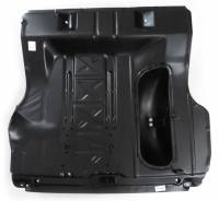 Golden Star Classic Auto Parts - Trunk Floor Pan Assembly with Spare Tire Well - Image 1