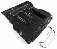 Golden Star Classic Auto Parts - Full Trunk Floor Assembly with Spare Tire Well - Image 5