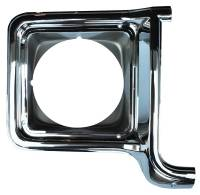 Headlight Parts - Headlight Bezels - H&H Classic Parts - Headlight Bezel RH Chrome