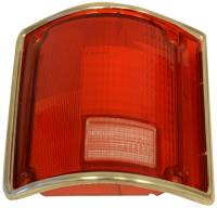 Taillight Parts - Taillight Lenses - H&H Classic Parts - Taillight Lens LH with Trim