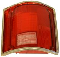 Taillight Parts - Taillight Lenses - H&H Classic Parts - Taillight Lens RH with Trim