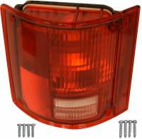 Taillight Parts - Taillight Assemblies - H&H Classic Parts - Taillight Assembly LH without Trim