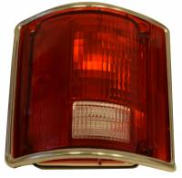 Taillight Parts - Taillight Assemblies - H&H Classic Parts - Taillight Assembly LH with Trim
