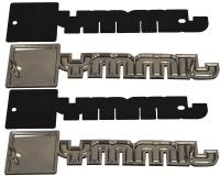 Fender Emblems | 1981-88 GMC Jimmy | H&H Classic Parts | 8858