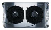 Cold Case Radiators - Aluminum Radiator with Dual Electric Fans