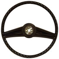 H&H Classic Parts - Steering Wheel Black - Image 3