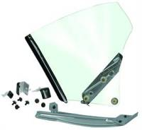 Glass - Quarter Window Assemblies - Dynacorn - Quarter Window Assembly RH