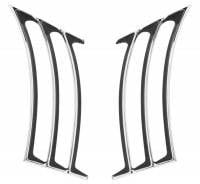 Side Trim Moldings - Side Molding Sets - Trim Parts USA - Rear Fender Moldings