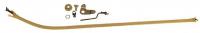 Door Restoration Parts - Door Lock Knobs - H&H Classic Parts - Rear Door Lock Knob Rod Assembly RH