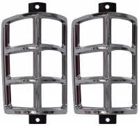 Parklight Parts - Parklight Bezels & Housings - H&H Classic Parts - Front Corner Light Cover Bezels