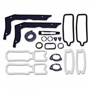 Classic Chevelle Parts Online Catalog - Weatherstriping & Rubber Parts - Paint Gasket Kits