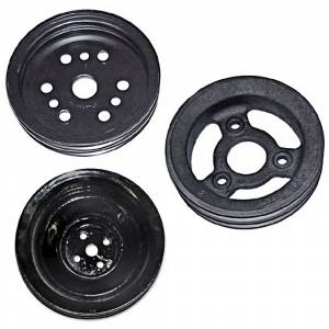 Classic Impala, Belair, & Biscayne Restoration Parts - Engine & Transmission Restoration Parts - Engine Pulleys
