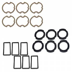 Impala - Weatherstriping & Rubber Parts - Lens Gasket Sets