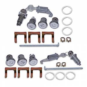 Classic Nova & Chevy II Restoration Parts - Locks & Lock Sets