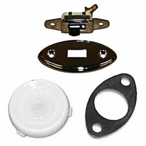 Classic Tri-Five Restoration Parts - Interior Restoration Parts & Trim - Dome Light Parts