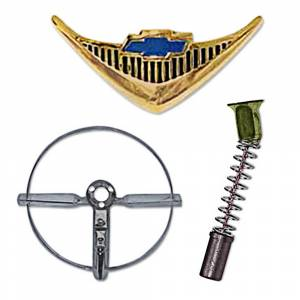 Classic Tri-Five Restoration Parts - Interior Restoration Parts & Trim - Horn Parts
