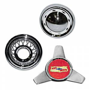 Tri-Five - Exterior Parts & Trim - Hub Cap Parts