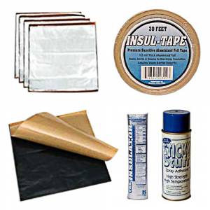 Classic Tri-Five Restoration Parts - Interior Restoration Parts & Trim - Heat Insulation