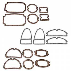 Classic Tri-Five Parts Online Catalog - Weatherstriping & Rubber Parts - Lens Gasket Sets