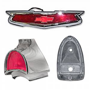Tri-Five - Exterior Parts & Trim - Taillight Parts