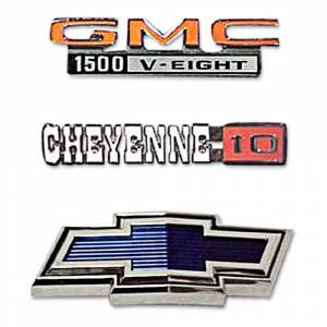 Classic Chevy & GMC Parts Online Catalog - Emblems